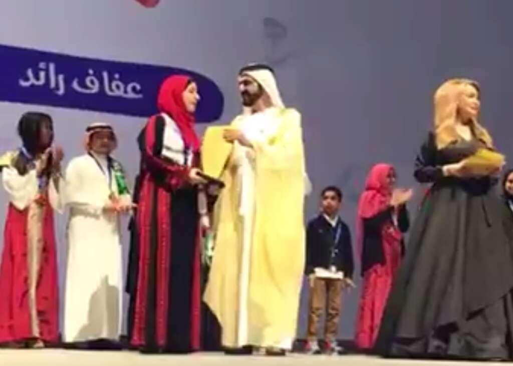 Palestinian student is winner of Arab Reading Challenge
