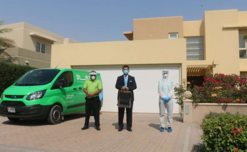 Dubai, Covid-19 tests done, travellers