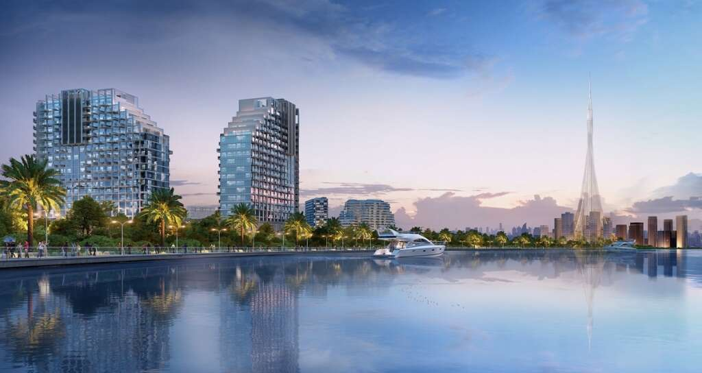 Azizi marks 35% completion at Creek Views