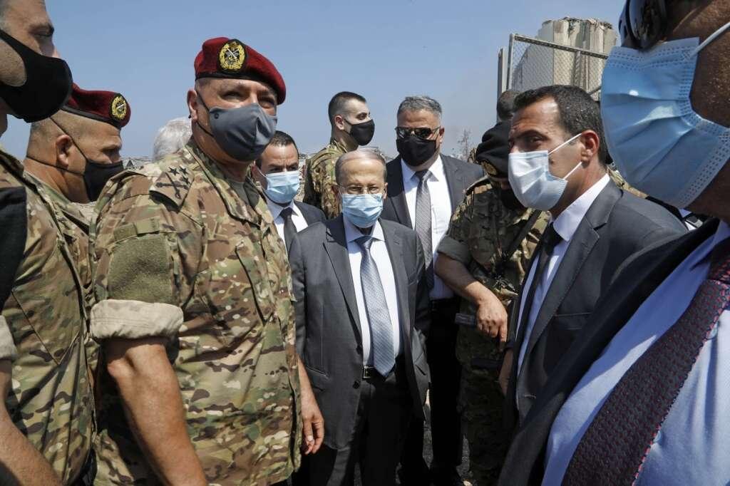 Lanka tea, Aoun, presidential guards