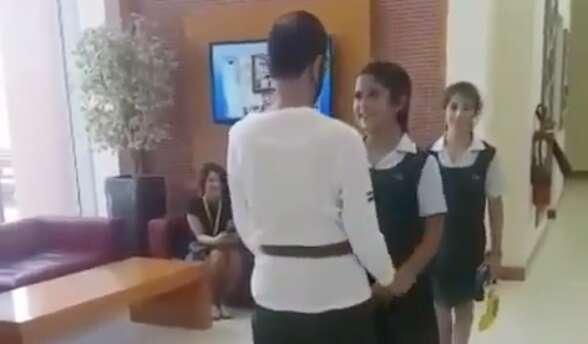 Video: Sheikh Mohammed picks up daughter from school - Khaleej Times