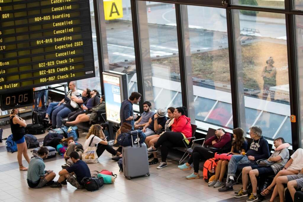 UAE airlines cancel flights to Germany over airport strike