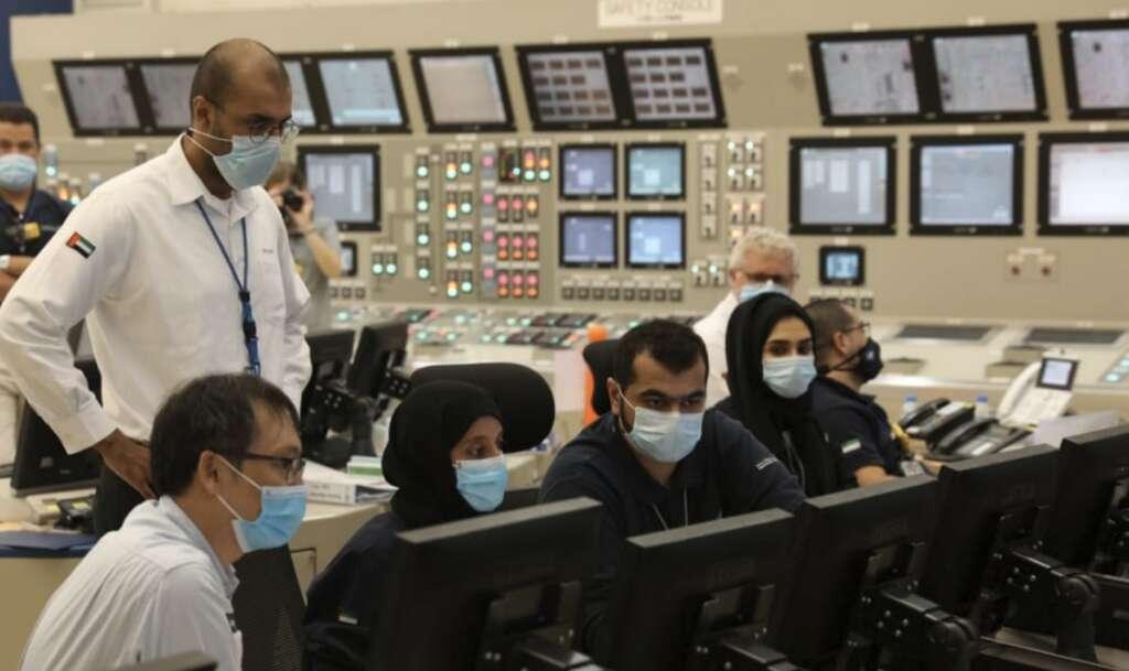 Barakah plant unit 1, transmission grid, Nuclear Energy Plant