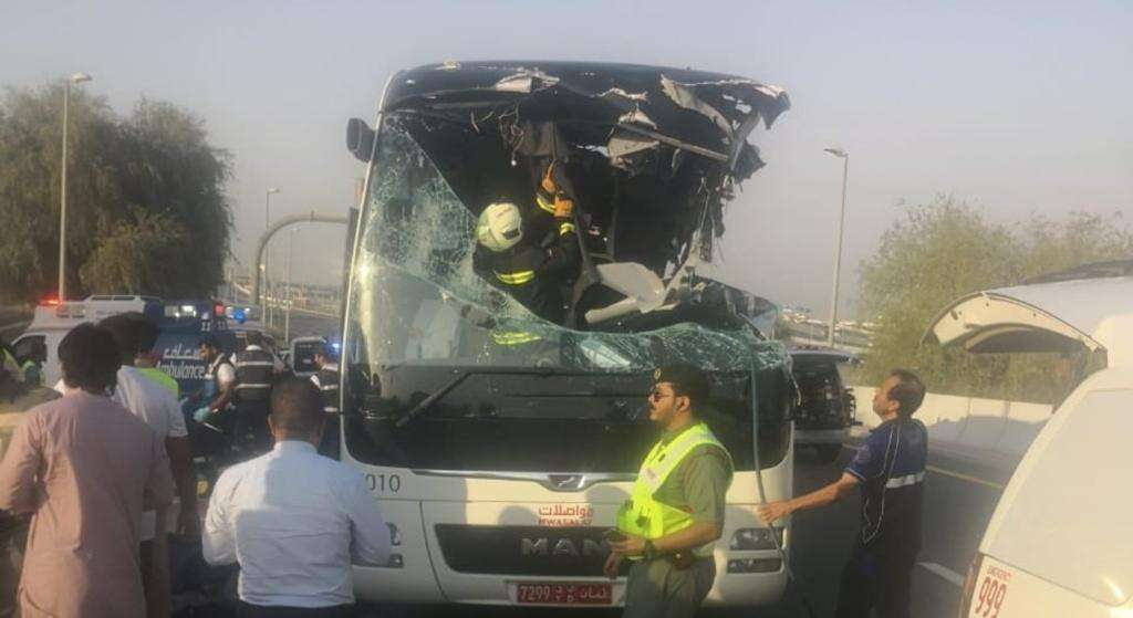 12 Indians killed in Dubai bus accident that claimed 17
