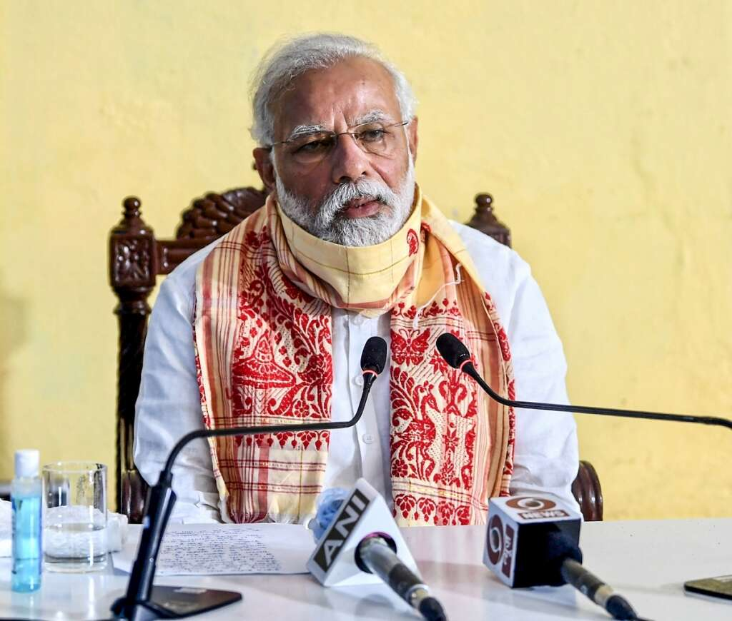 Indian PM reacts to President's rallying speech ahead of Independence Day