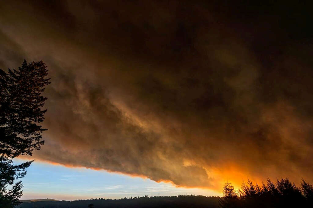 oregon, united states, wildfires