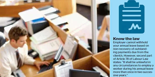 Feeling Forced To Quit Job Things To Do Now Khaleej Times