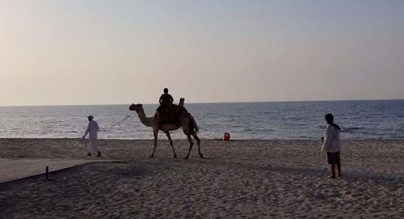 Ajman Corniche Beach, Al Zorah Area Beach, coronavirus, covid-19, sanitisation