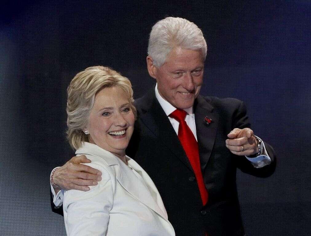 Clinton BLAMES FBI Director for election loss