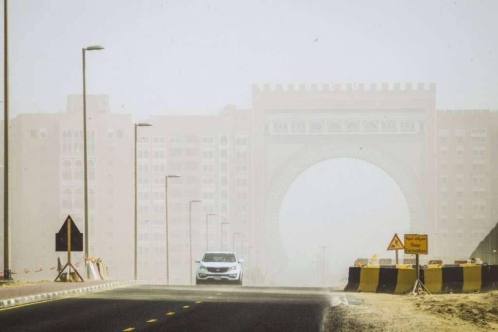 UAE, weather, Dubai, Abu Dhabi, hot, dust, National Center of Meteorology