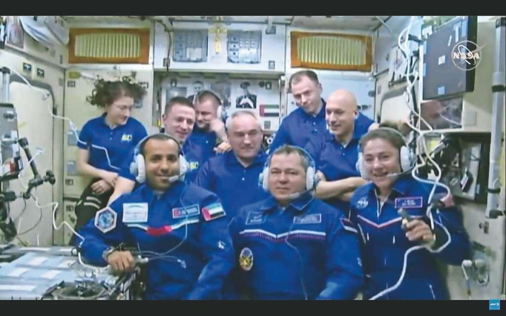 Hazzaa, Hazza, space, UAE astronaut, soyuz, international space station