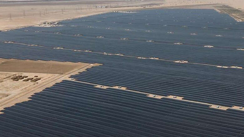 World's Largest Individual Solar Power Project Launched In Abu Dhabi க்கான பட முடிவு