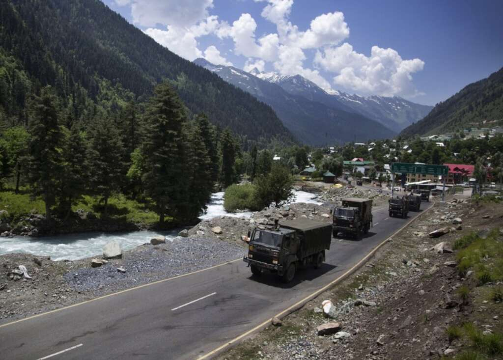 Galwan Valley, China, Indian, Chinese, Line of Actual Control, Himalayan border region, Loc