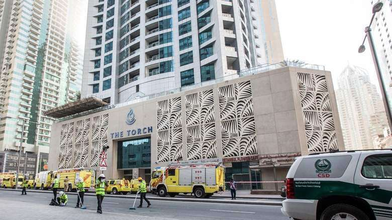 Dubai Police reveal cause of Torch tower fire