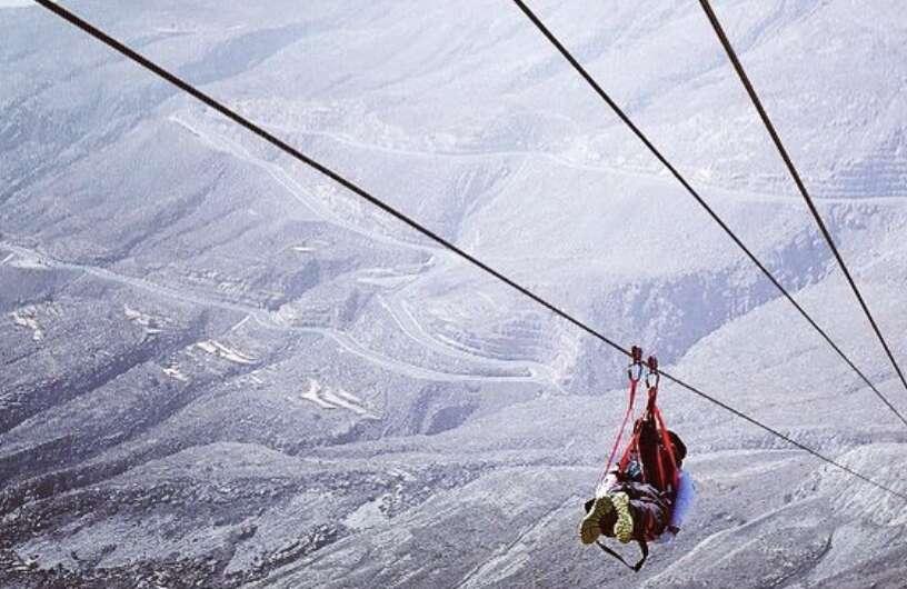 Worlds longest zipline in UAE closed after chopper crash, 4 dead
