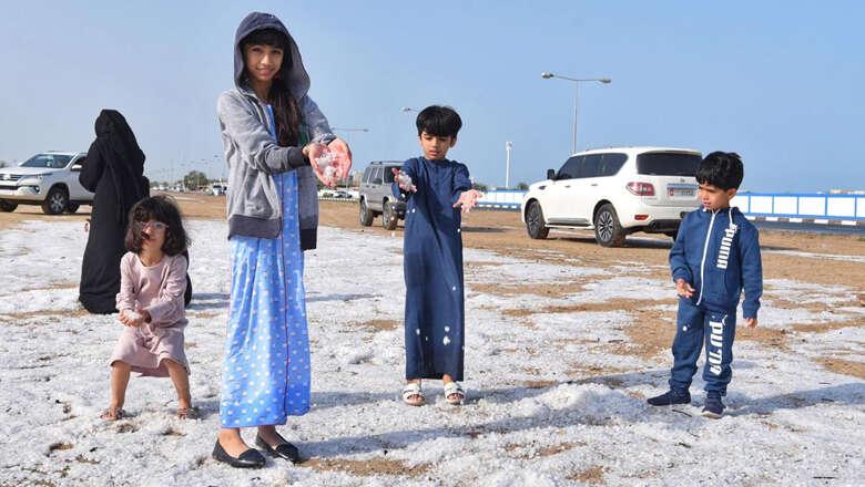 Hail, flash floods in UAE desert: Blame it on climate change