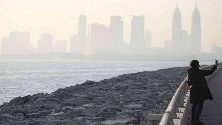 UAE, hazy, humid, Tuesday, National Center of Meteorology, weather, forecast, Dubai, Abu Dhabi,