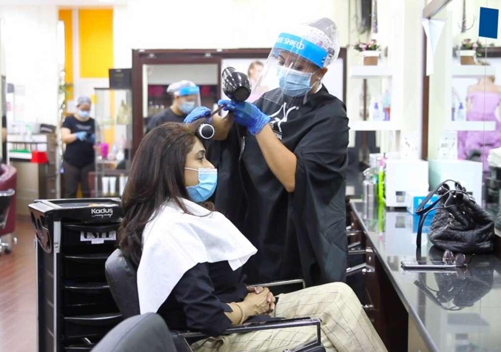 Fighting, coronavirus, Dubai-based, salon owner, leisure, customers safe