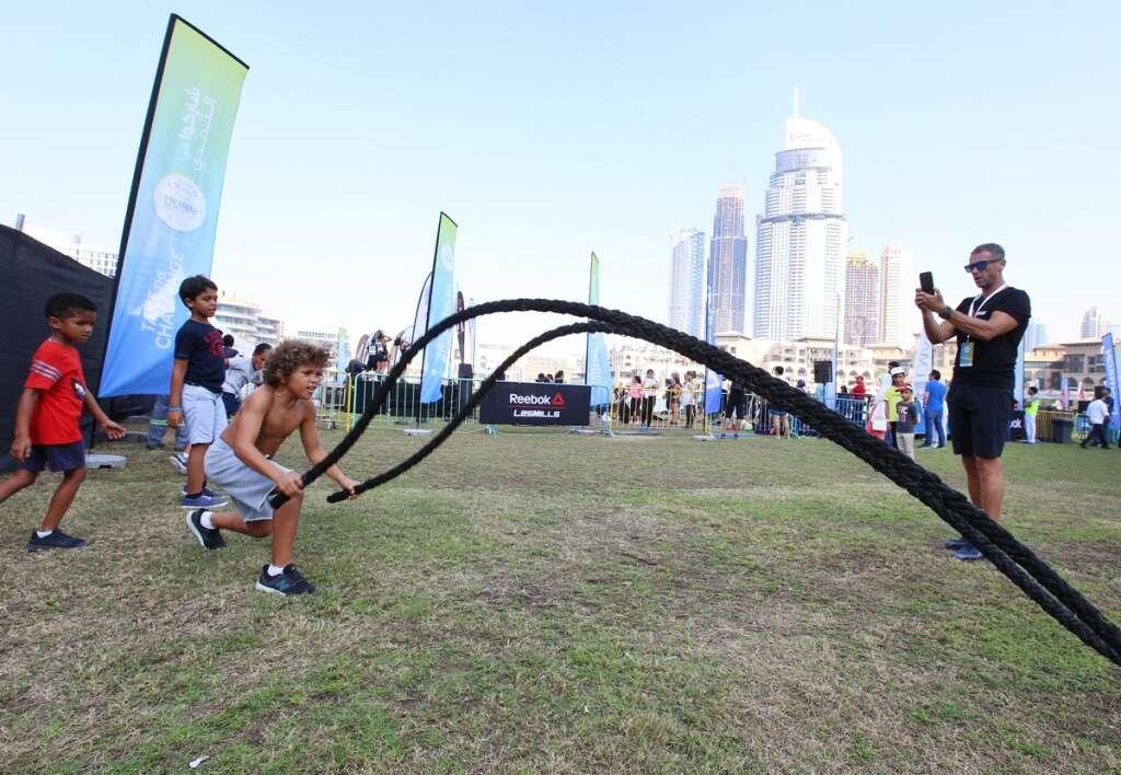 Dubai Fitness Challenge, UAE Residents, Dubai residents