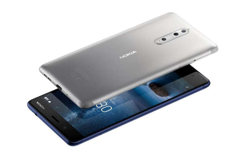 Nokia 8 phone unveiled, targets surging video-streaming demand