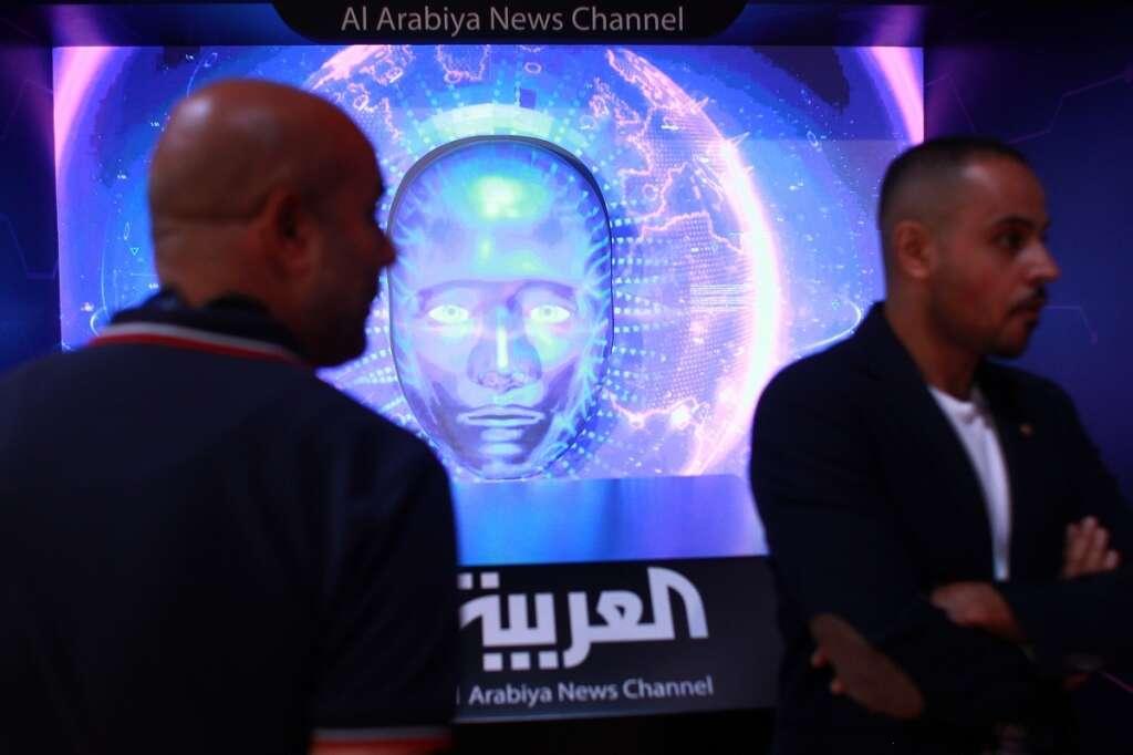 Video: Regions first AI journalist Tamara intrigues Dubai forum audience