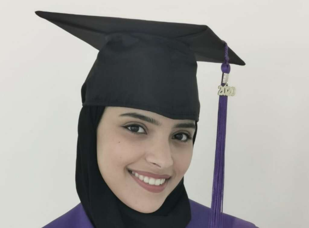 Student, surprised, Sheikh Mohammed, remembers, after, 4 years