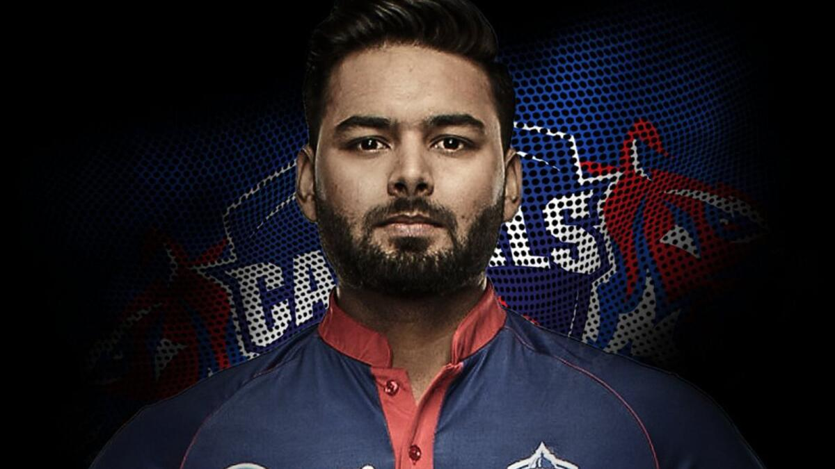 Delhi Capitals captain Rishabh Pant is ready for action in the IPL. — Twitter