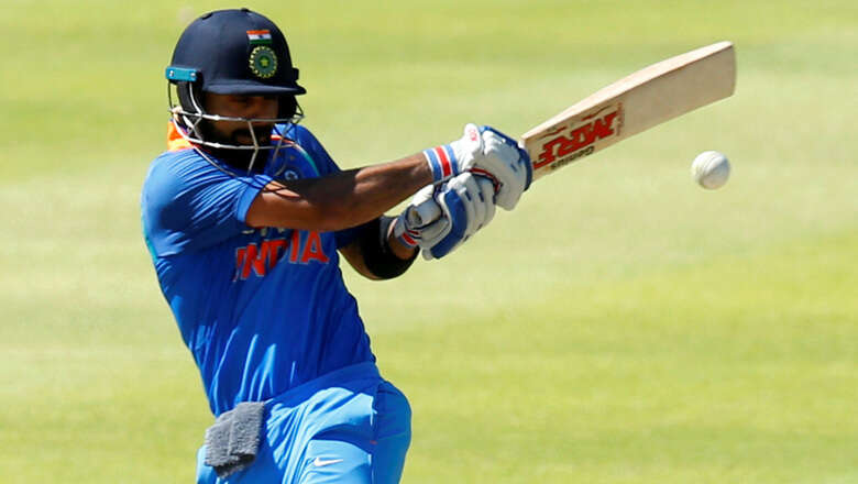Kohli to lead India in first 2 ODIs against West Indies