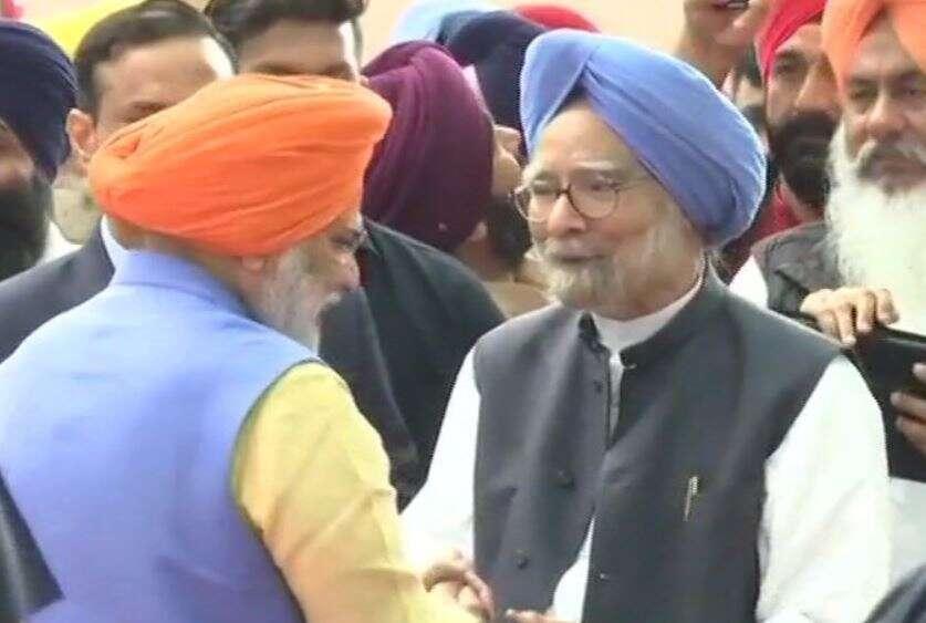 Indian politicians, arrive, Pakistan, Kartarpur Corridor, inauguration, Manmohan Singh, Capt Amrinder Singh