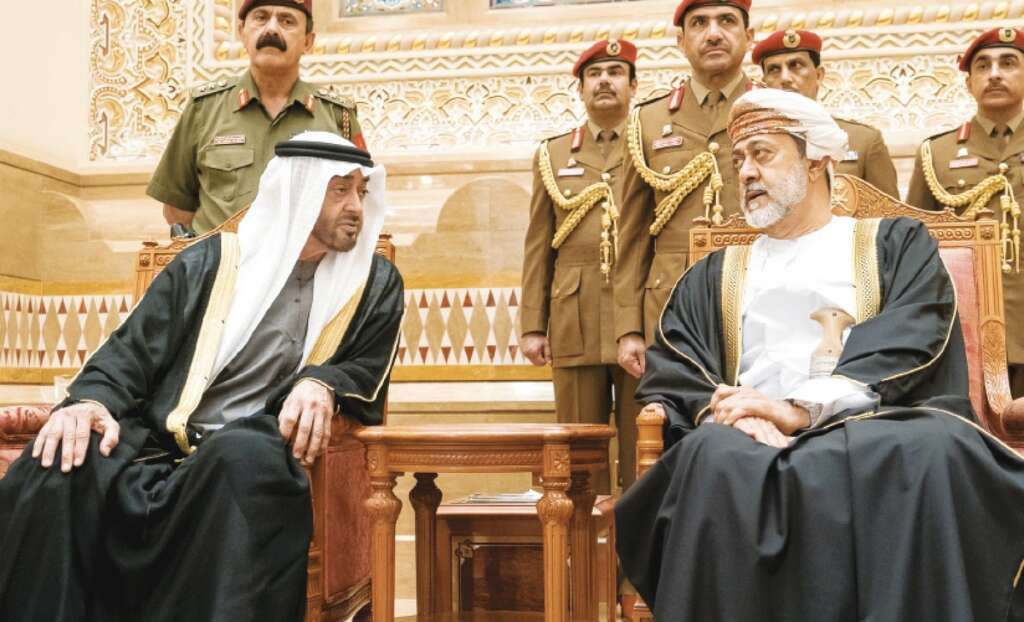 UAE,Oman,Sheikh Mohamed