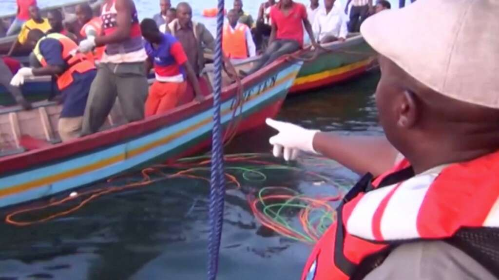 126 dead in Lake Victoria ferry disaster; many more missing
