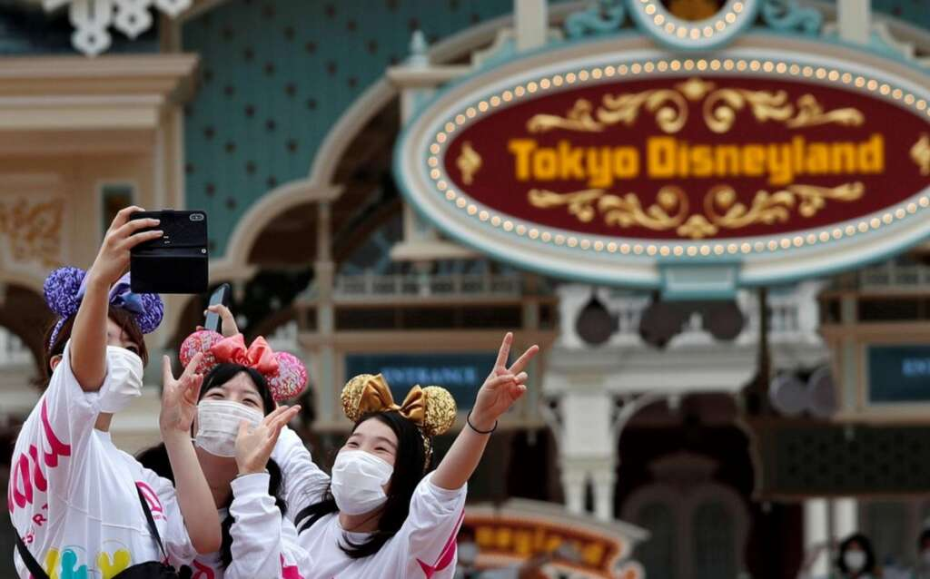 Tokyo Disney reopens, Mickey Mouse, Tokyo Disney Resort