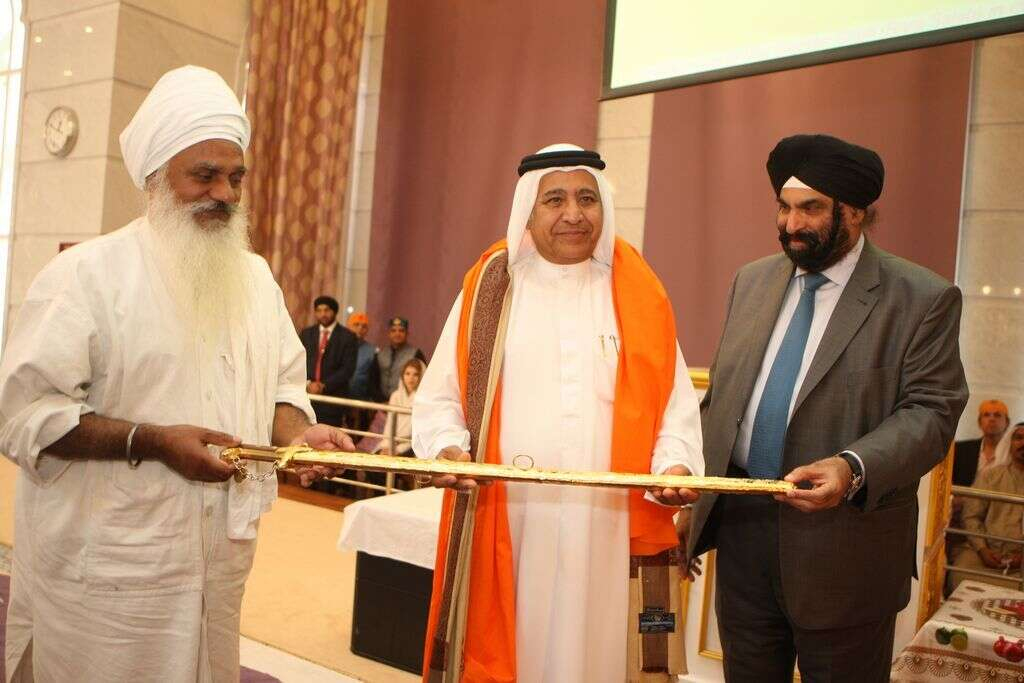 Dubai gurudwara celebrates fifth anniversary