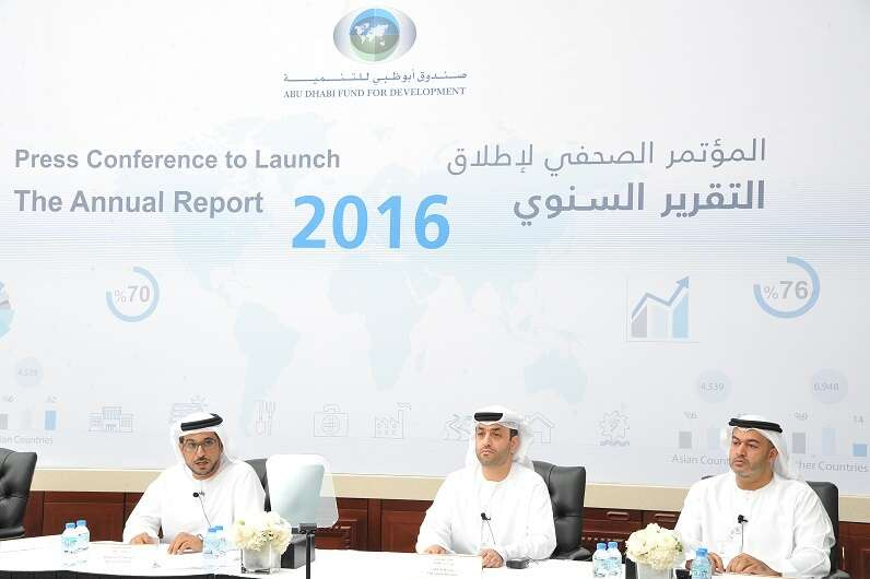 ADFD funded Dh5.6b projects in 2016