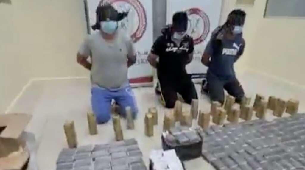 abu dhabi police, gang, drug bust, arrest, narcotic pills, smuggling, organised crime