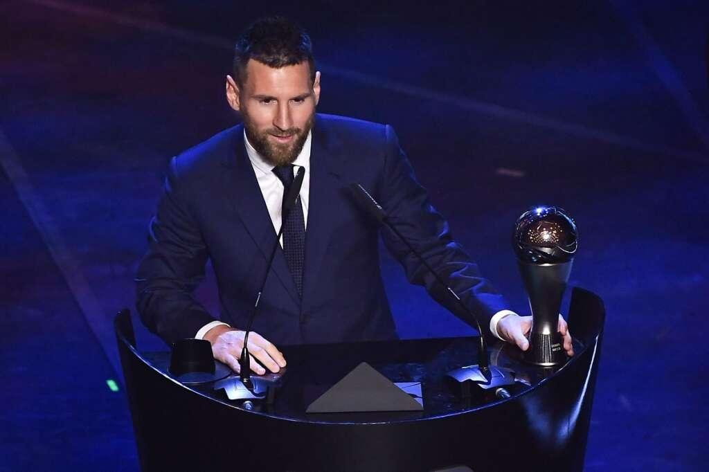 Messi, Fifa Player of the Year award, Virgil Van Dijk, Ronaldo