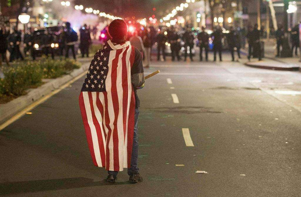 Anti-Trump protests sweep across America