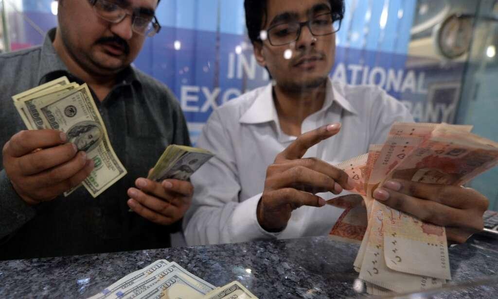 Pakistan rupee in apparent devaluation