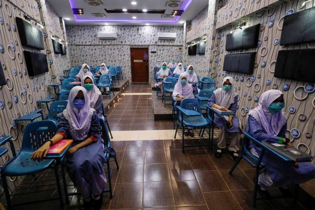 Pakistan, millions, students, returned, classes, coronavirus, Covid-19