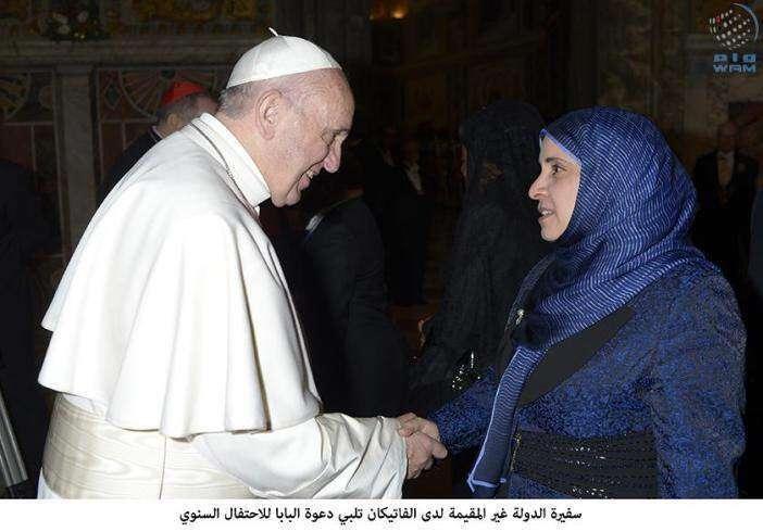 UAE envoy meets Pope
