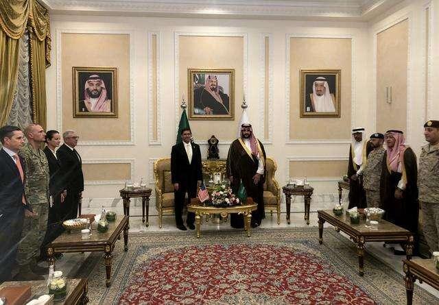 pentagon, pentagon chief, saudi arabia, saudi, iran