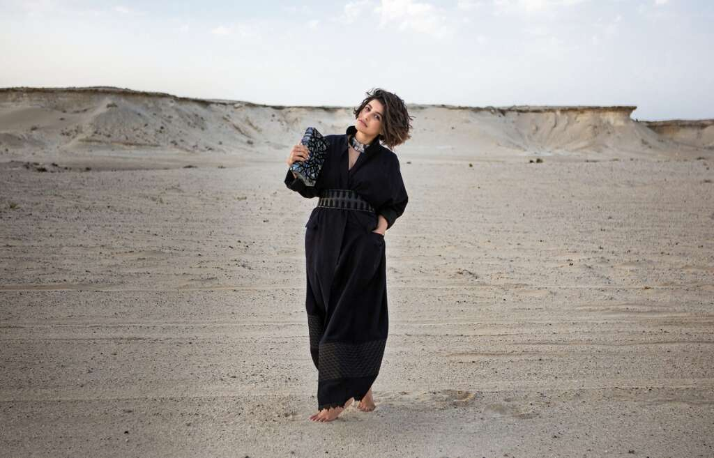 df6b63cde39 Fashion blogger and luxury consultant Anum Bashir flaunts a more  contemporary design of the abaya