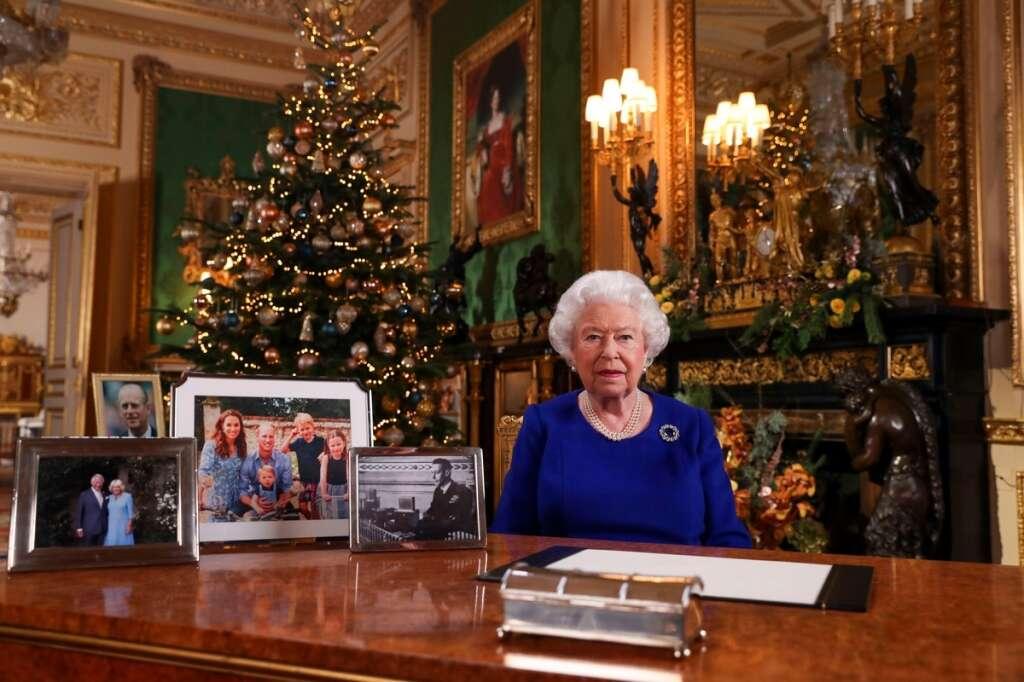 Queen Elizabeth, Queen gathers, Prince William, Harry, Meghan