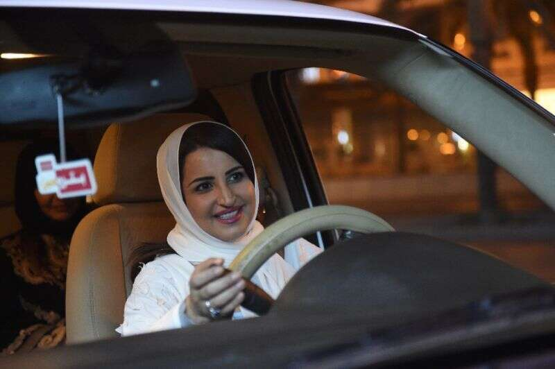 In her own words: Saudi Arabian woman on her first drive