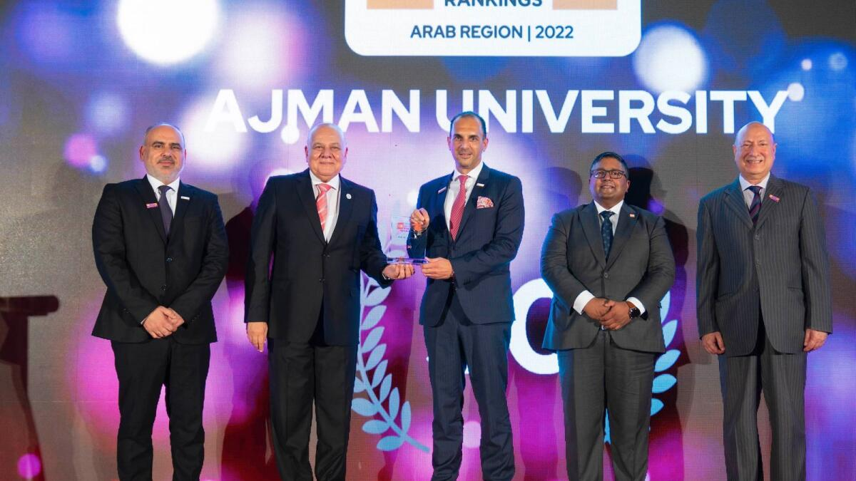 Ajman University emerges as one of the fastest growing Arab universities