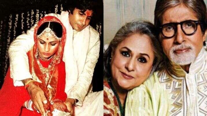 Amitabh Bachchan, Jaya Bachchan, wedding, anniversary, Bollywood