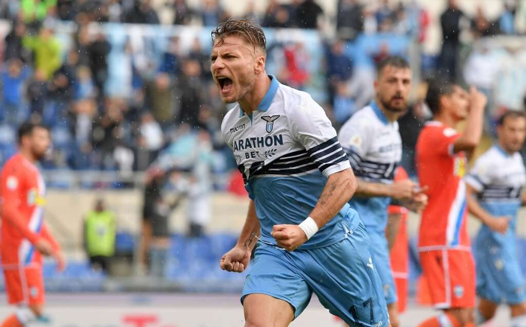 Struggling with Italy, Immobile shines for Lazio
