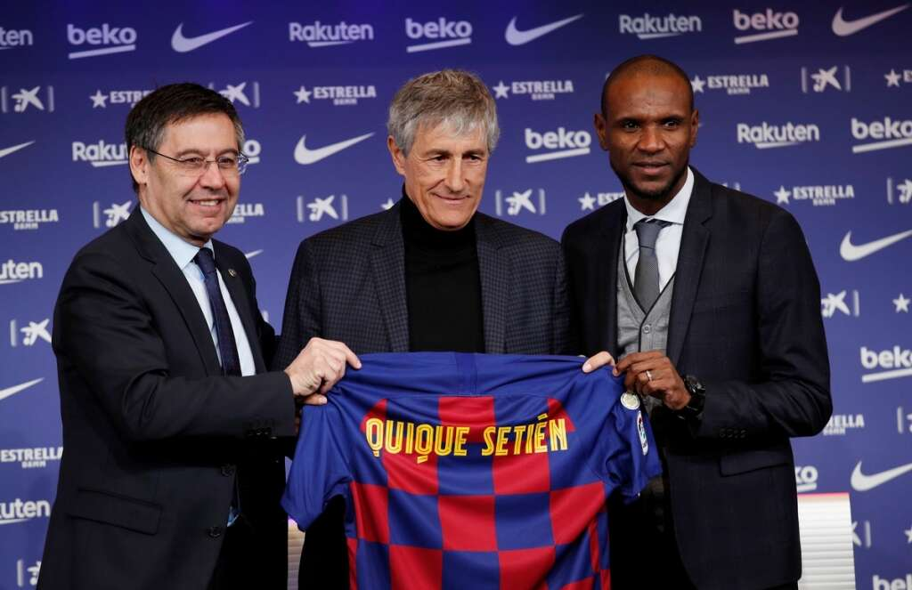 New Barca coach Setien must bring style and silverware