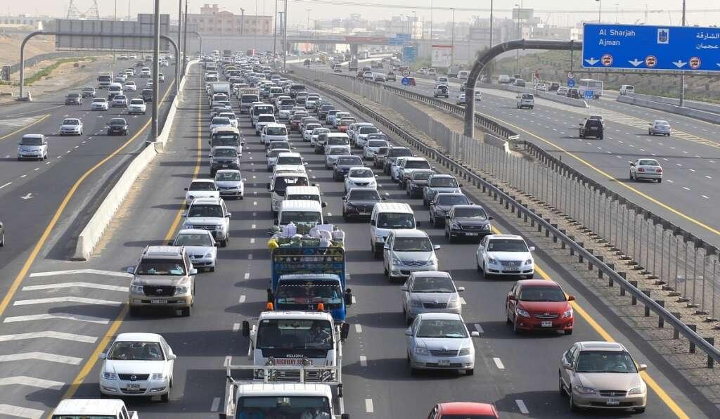 UAE traffic, Drivers, face delays, first day of school, Dubai, Sharjah, traffic,