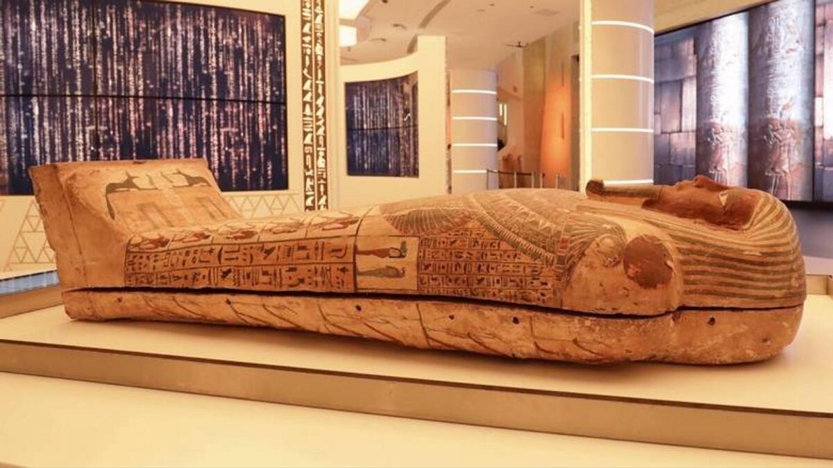 Expo 2020 Dubai: Rare objects on display include moon rock, Egyptian mummy